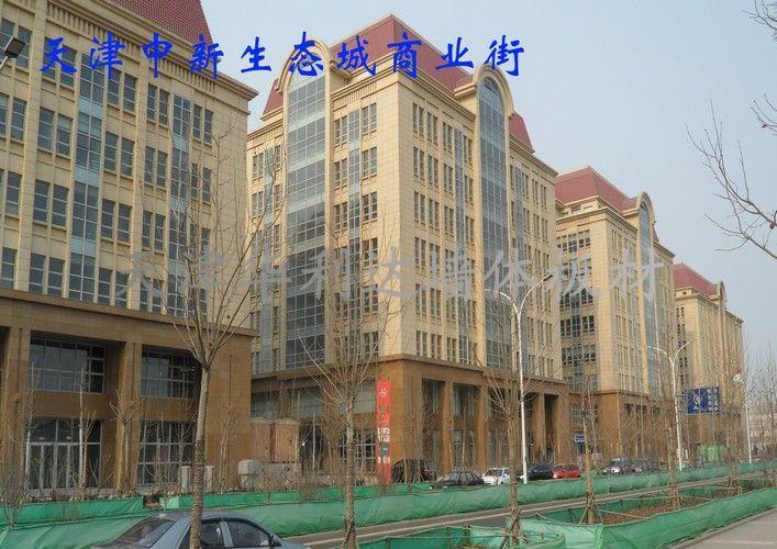企业形象天津中新生态城商业街天津中新生态城商业街  天高清图片