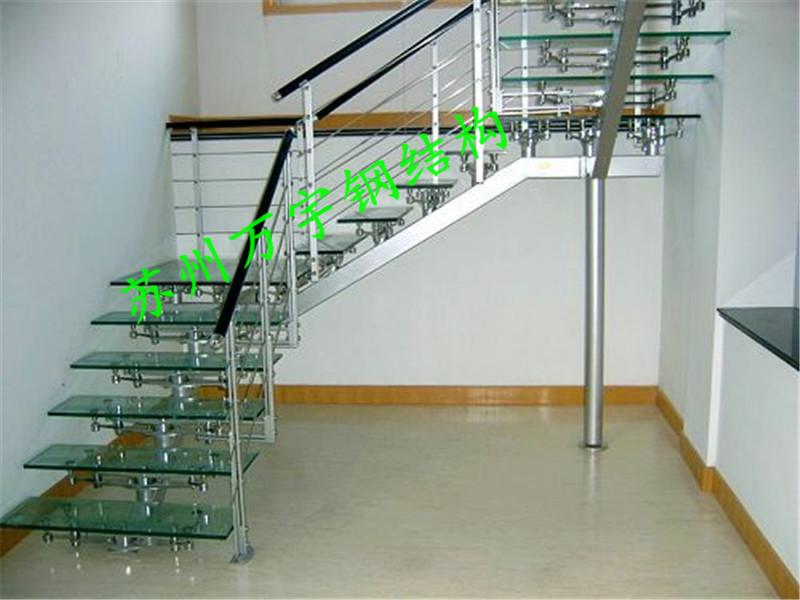 钢结构楼梯,钢楼梯首选万宇|苏州万宇钢结构建筑有限