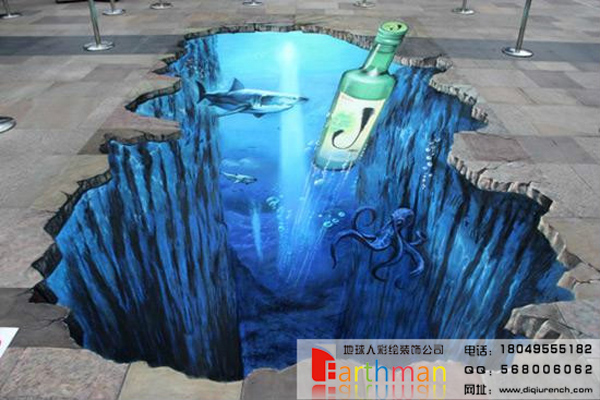 3d立体画图片下载 立体墙画图片大全 街头3d立体画 地面3d立体画图片