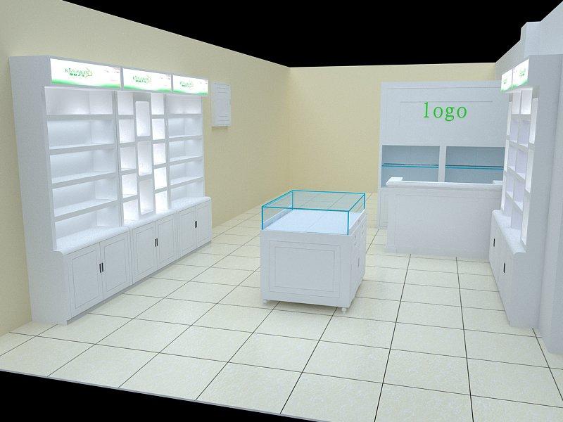 家居产品设计 化妆品展示柜-02    苏州市相城区蠡口英豪办公家具有限