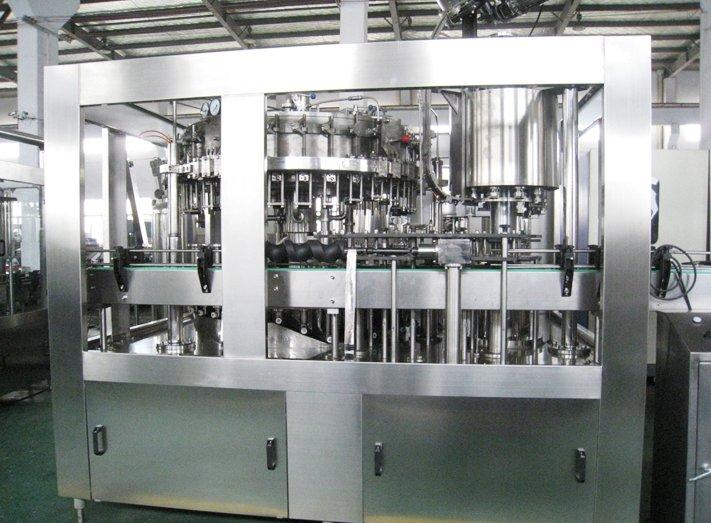 型号:BDGZ32-32-10 产能(b/h)500ml:6000-8000 可适用瓶盖类型:塑料螺口瓶盖,铝制瓶盖,冠状瓶盖 玻璃瓶灌装生产线可以适用于生产碳酸饮料,啤酒,纯净水,果汁,茶,奶等各种饮料。 可适用于各种玻璃瓶。 该机由专业设计师设计,外形美观,操作方便。 采用先进的PLC控制。触摸屏和无瓶无盖系统。主要的电气元件。