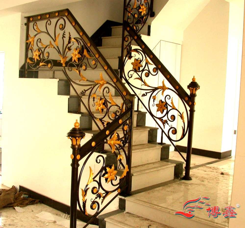 铁艺楼梯ptlt-03-上海楼梯,上海铁艺楼梯,上海别墅楼梯
