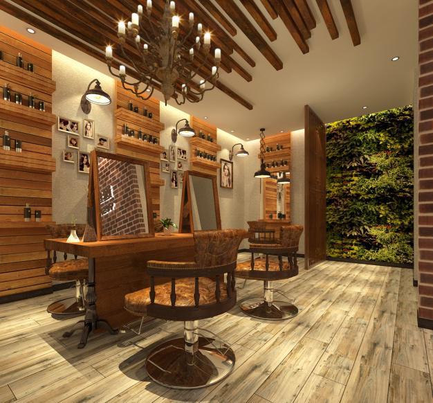 朝阳地区美容美发连锁店装修装饰风格设计图片