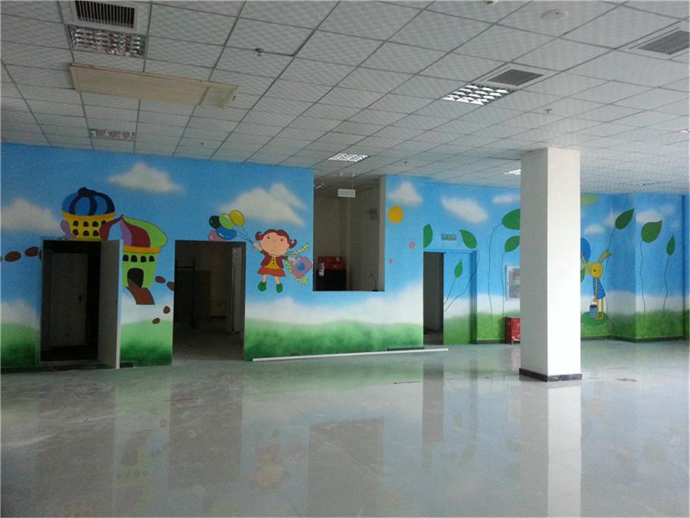 石家庄儿童城墙体彩绘 石家庄墙绘公司 石家庄手绘公司