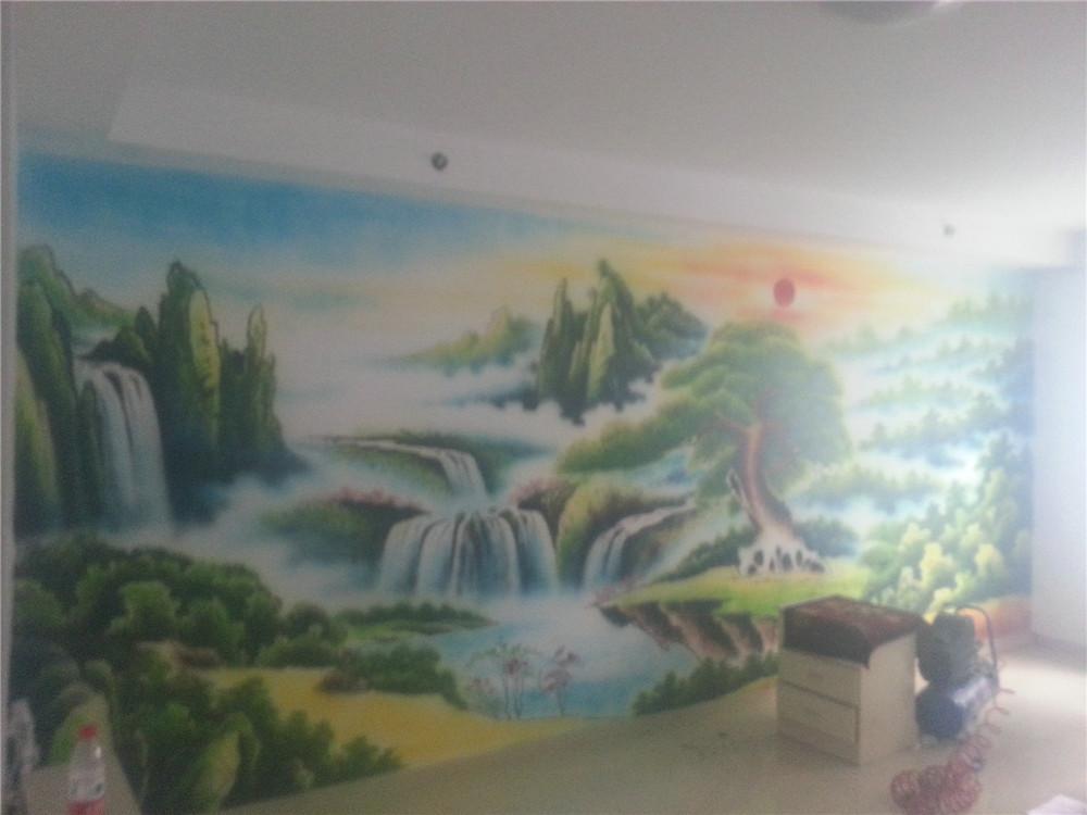 园彩绘 石家庄新农村墙绘 石家庄新农村墙体彩绘 石家庄墙体彩绘公司