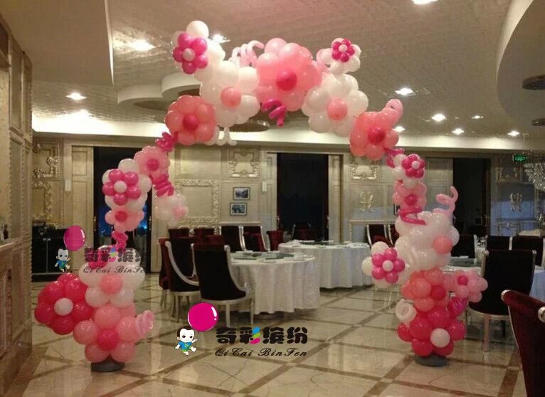 【江北生日派对气球布置】厂家