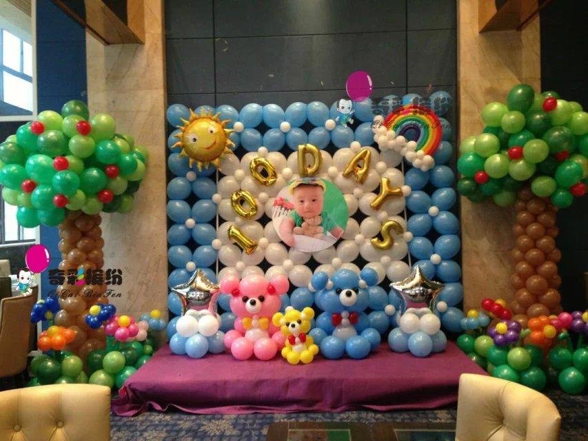 幸福放飞,签到区,拱门,重庆气球装饰公司,气球亭,路引,舞台装饰,新房