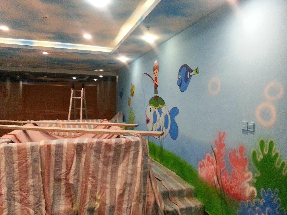 石家庄墙绘|石家庄墙体彩绘石家庄手绘墙|石家庄彩绘