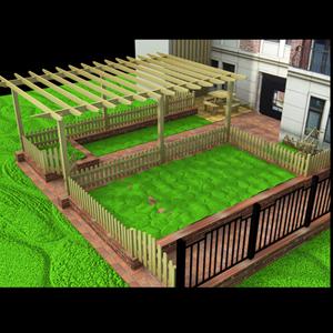 青岛开发区黄岛3d立体效果图设计厂房