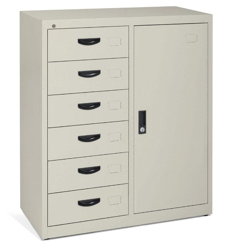 衣柜办公台组合图片_SOGAL索菲亚现代简约卧室组合衣柜收纳柜