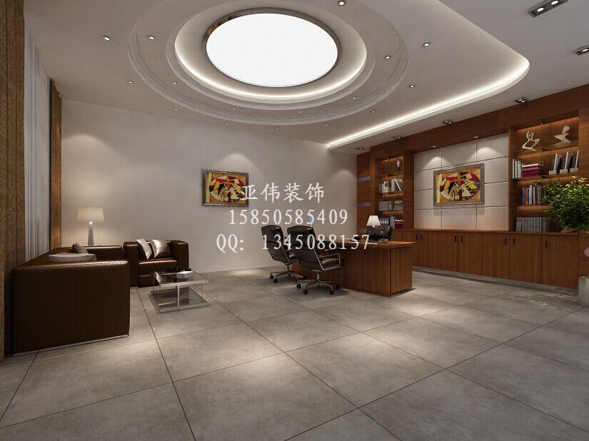 新街口办公区域装修效果图 专业办公室装修公司