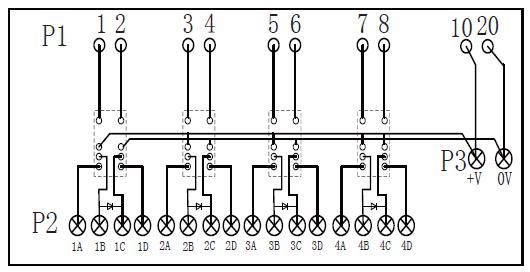 4路模拟信号集成端子 隔离器配电器 连接器 信号端子 电缆连接6es7331