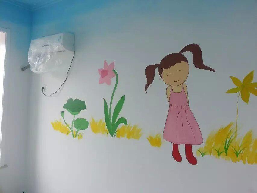 石家庄财富天下儿童房墙体彩绘|石家庄墙绘|石家庄彩绘|石家庄手绘