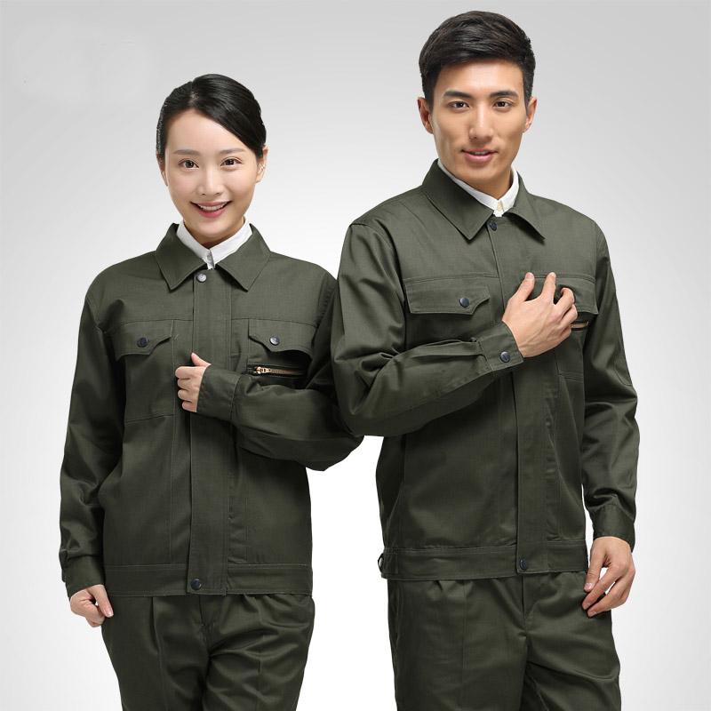 唐山长袖工作服套装 唐山工作服套装男 唐山劳保服套装 唐山车间工作