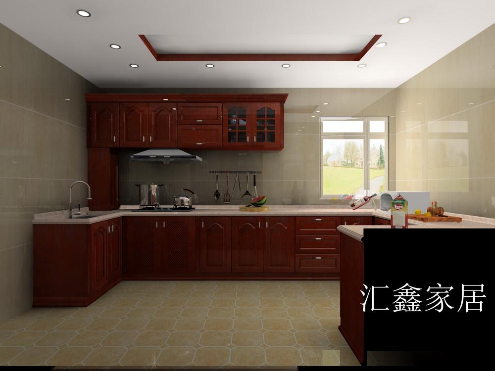 厨房橱柜设计图图片
