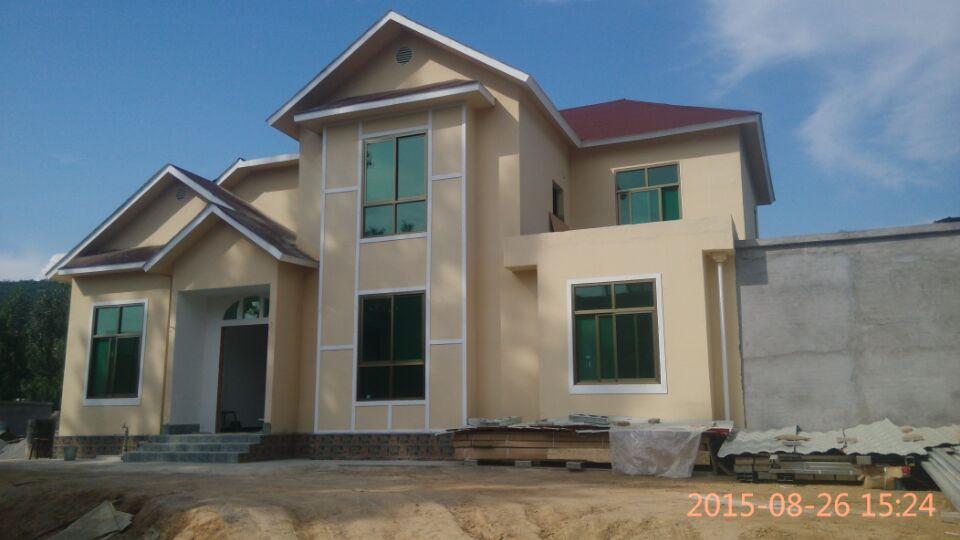 钢结构农村别墅图片
