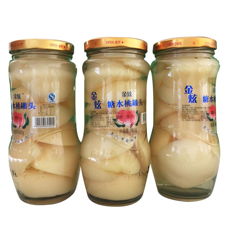 【糖水桃罐头】厂家,价格,图片_遵化市金炫食品厂