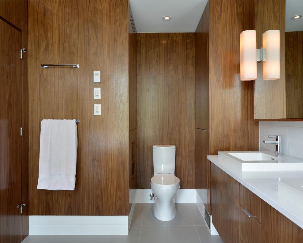 竹木纤维集成墙板装饰效果图