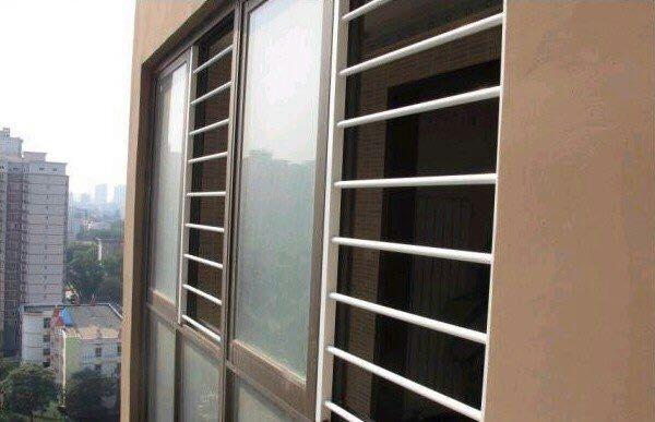 高层防护 儿童防护栏 高层窗户防护栏