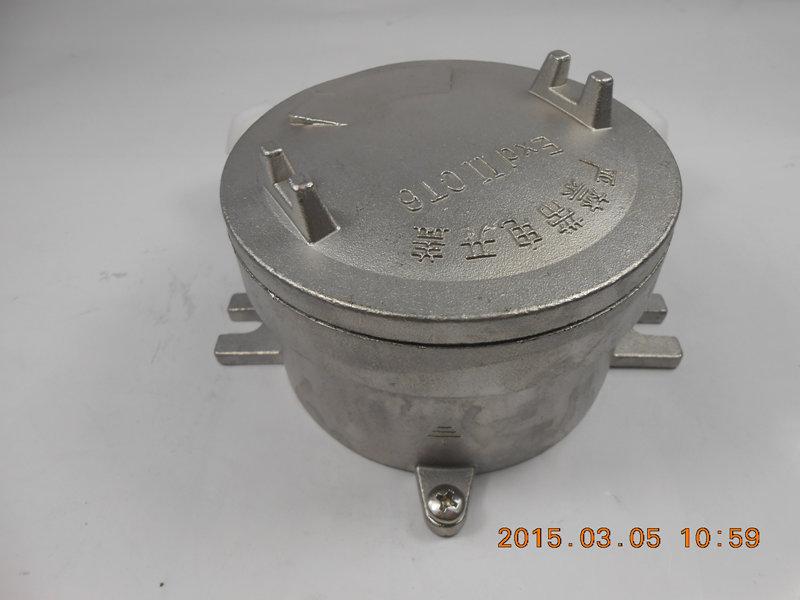 304不锈钢防爆接线盒厂家