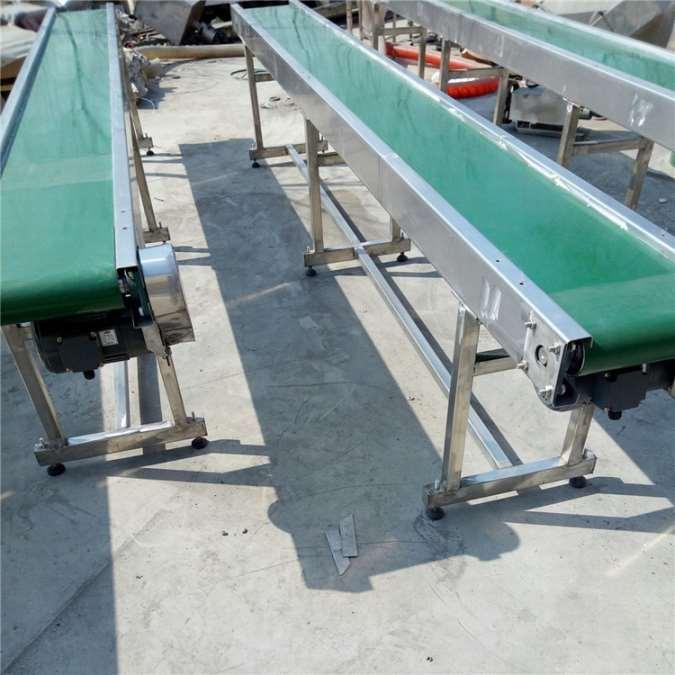 廊坊流水线输送机 电动升降流水线定制,结构简单输送机 轻型皮带输送