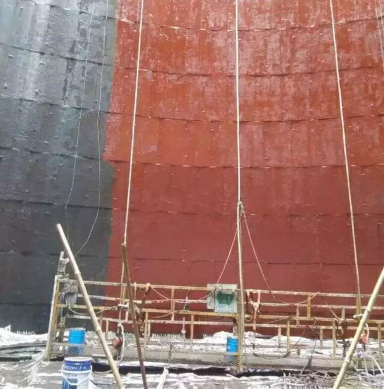 电厂冷却塔防腐施工工程
