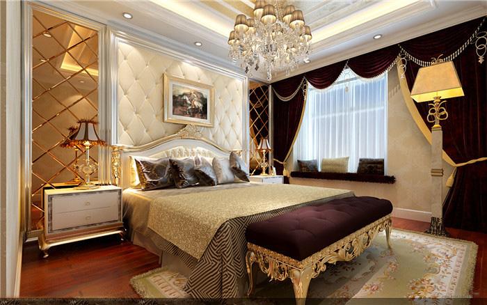中式酒店公寓效果图