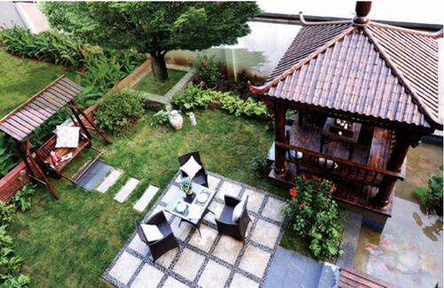 屋顶花园无锡空中花园无锡阳台设计图片
