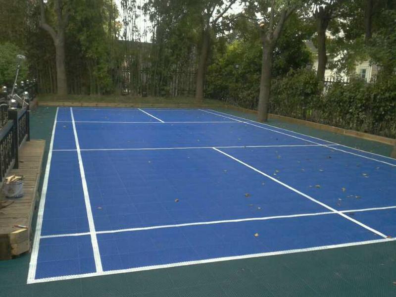 网球场案例(室外)