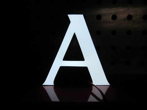 led环氧树脂发光字制作