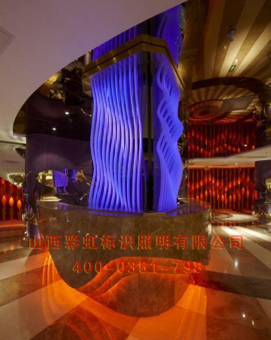 原建筑照明设计 楼体亮化工程 led 灯光效果图 高清图片