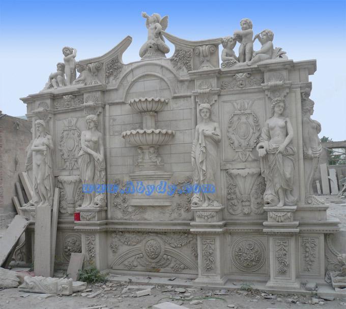 山西欧式喷泉 山西石雕喷泉 山西雕塑喷泉