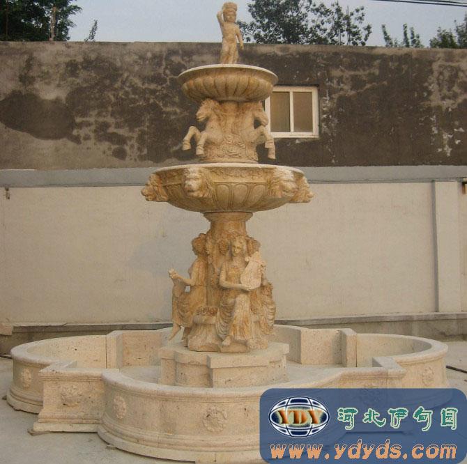 水景喷/雕塑喷泉/石雕喷泉厂家/内蒙古欧式喷泉026