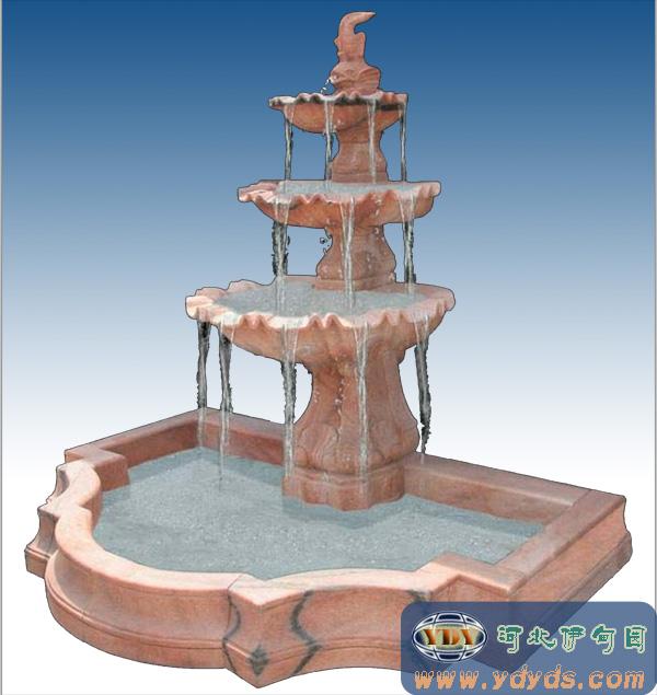 【石雕喷泉/欧式水景喷泉/雕塑小品/欧式喷泉049】