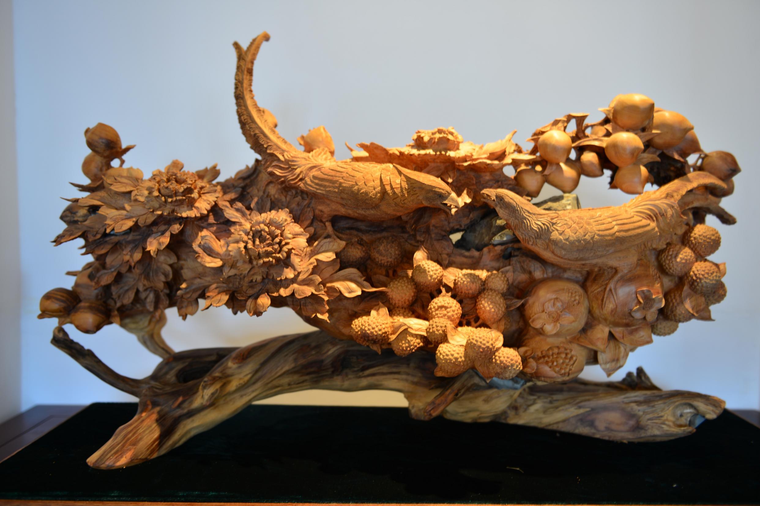 云南雕塑:木雕工艺制作流程及雕刻技法
