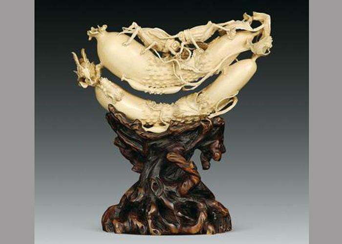 云南雕塑:象牙雕刻艺术品的流派真伪与断代