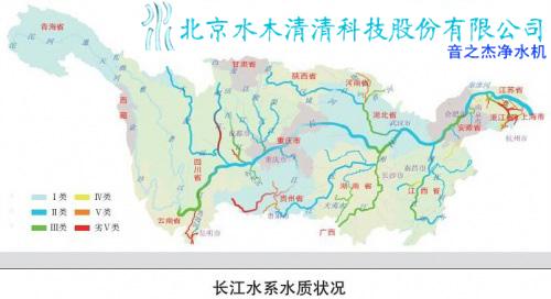 此外,珍稀野生动物中华鲟等也因长江水质污染陷灭绝危机.