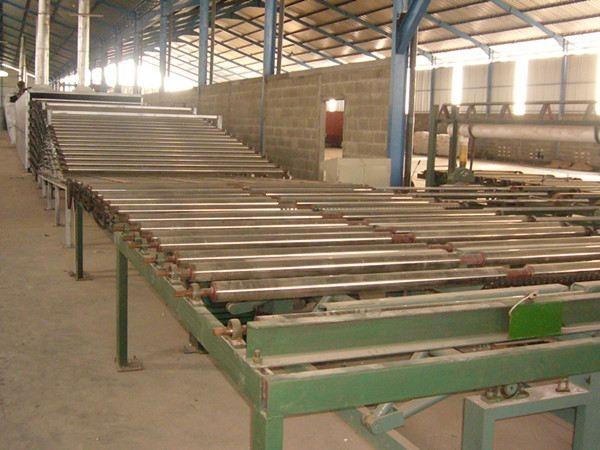 秦山石膏板厂生产线改造工程协议签订