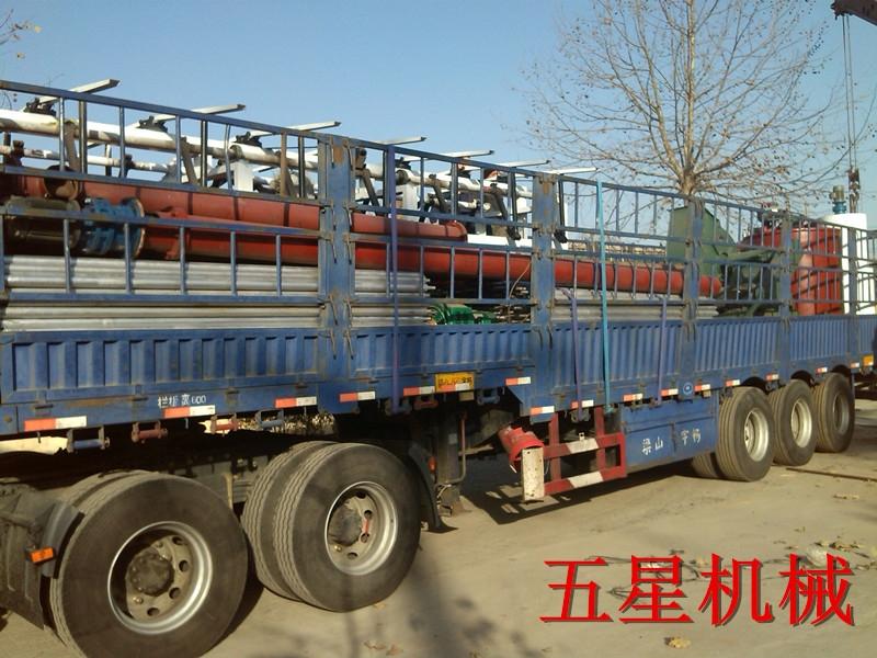 山西吕梁石膏板生产线设备发货