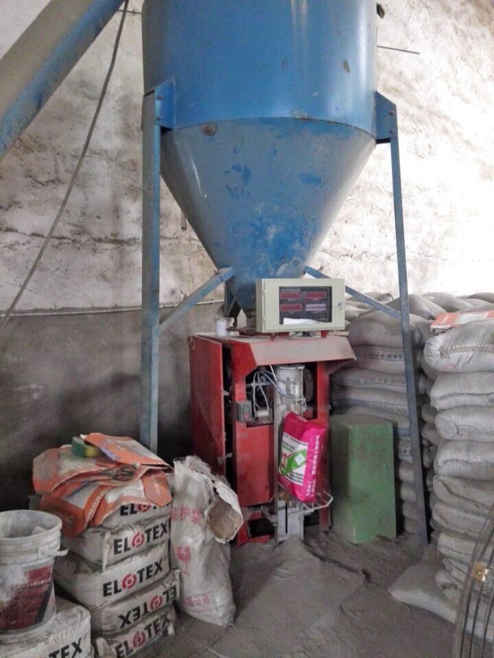 立式腻子粉搅拌包装机