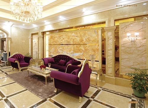 高品质奢华大理石背景墙尽在富立华