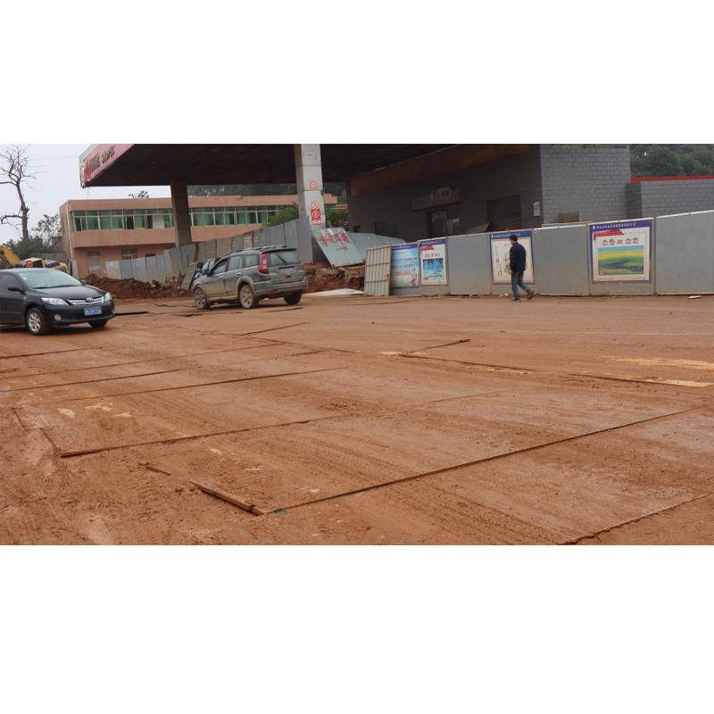 新开铺路改造工程现场
