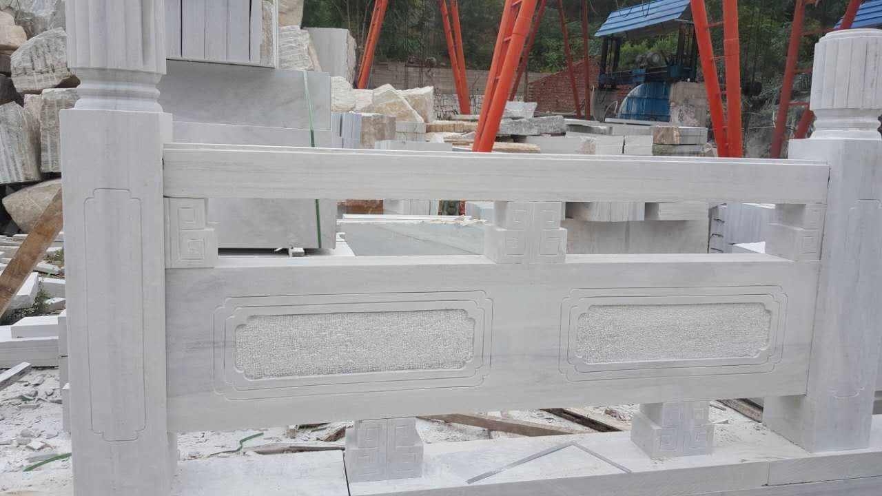 草白玉石材施工