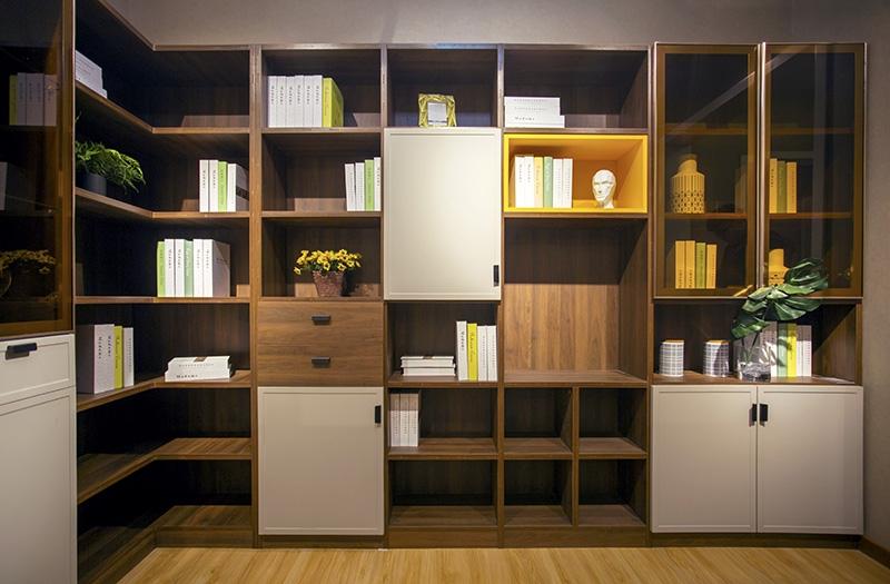 开放式小书房该怎么布置?
