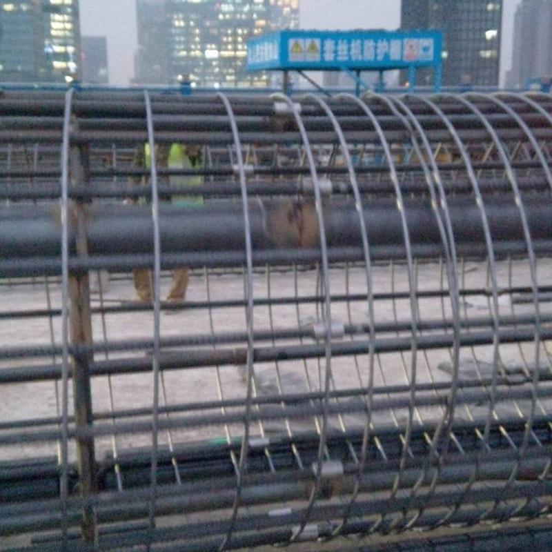 钢筋笼制作成型