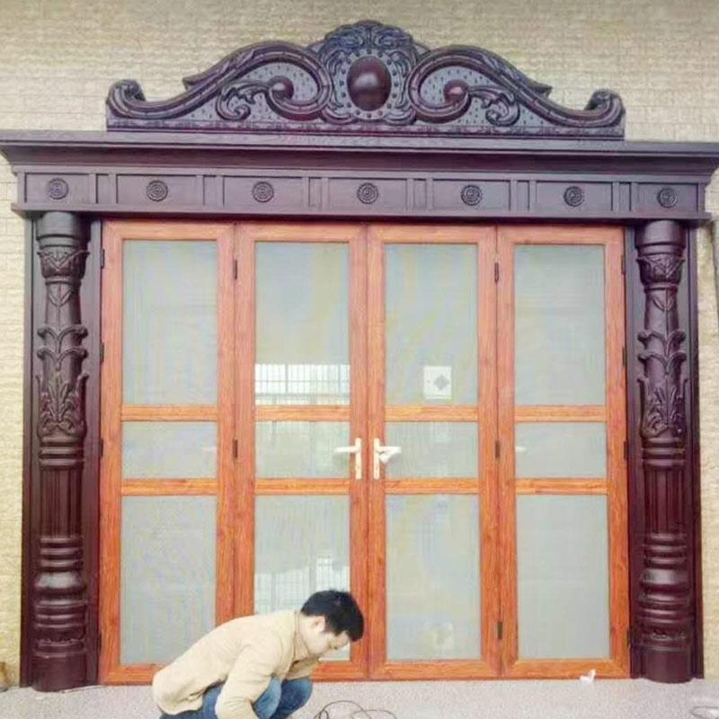 你家的风琴式折叠纱门如果不能防蚊防盗,要