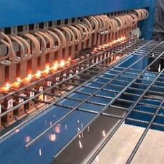 冷轧带肋钢筋焊接网的生产能力