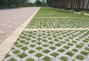 草坪砖的适用范围