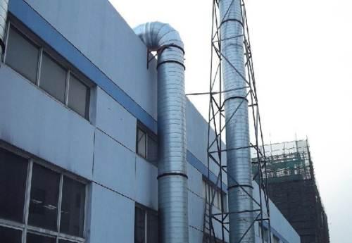 螺旋风管安装过程中振动和噪音的处理方