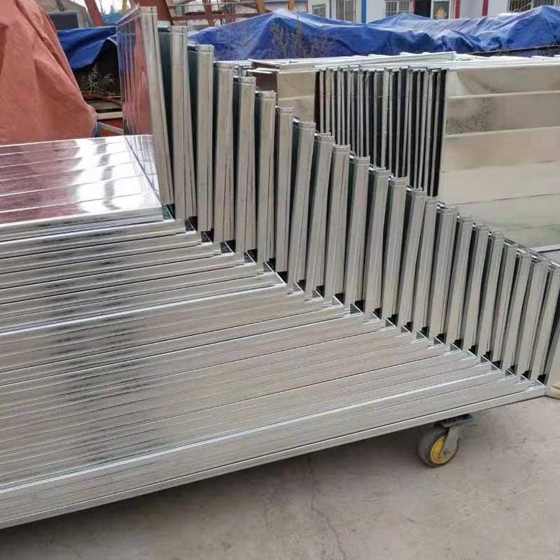 郑州镀锌风管加工安装的方法